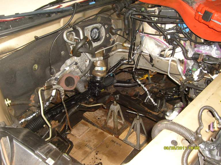 chevy monte carlo power steering location