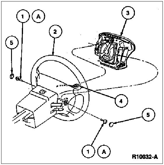 mustang 1995 air bag diagnostic codes